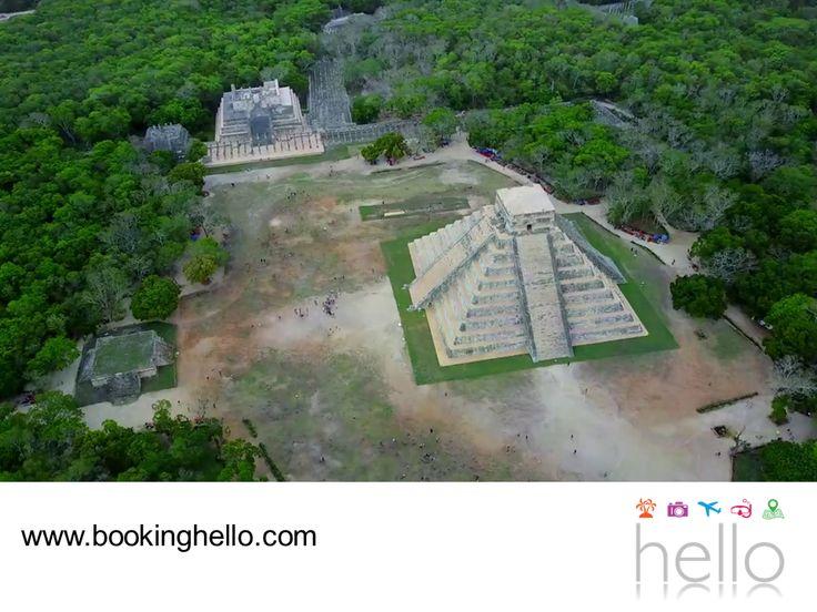 """LGBT ALL INCLUSIVE AL CARIBE. Viajar al Caribe mexicano, te da la oportunidad de conocer datos interesantes sobre la historia de la cultura maya. La traducción de Chichen-Itzá es """"La boca del pozo de los brujos del agua"""" y su nombre hace referencia al Cenote Sagrado, un lugar que los mayas consideraban la entrada al inframundo. En Booking Hello te invitamos a adquirir tu pack all inclusive a Cancún, para que visites con tu pareja este y otros lugares llenos de misticismo. #LGBTalcaribe"""