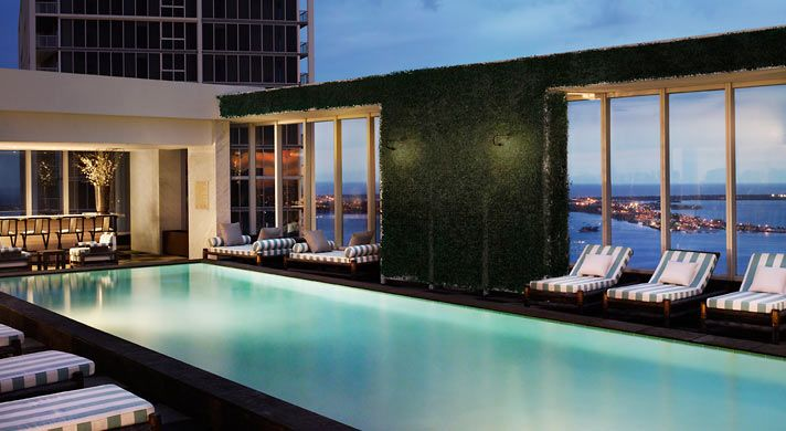 Just for the pool. Viceroy hotel Miami