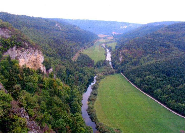 Donautal river valley.  One of my travel dreams is to do a version of Ayla and Jondalar's journey along the Danube, from the Earth's Children books by Jean M. Auel.
