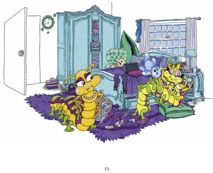 Make sure you always clean your room! Caitlin Cleans her Closet   Genius Publishing