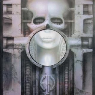 ELP Brain Salad Surgery. Favorite album cover art.