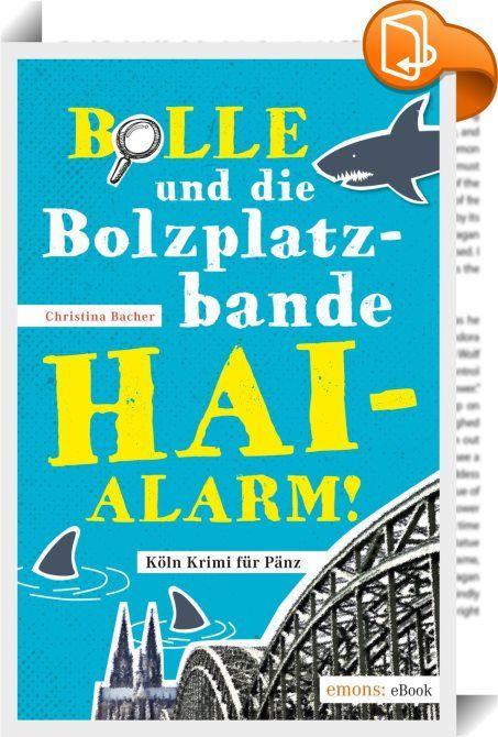 Bolle und die Bolzplatzbande: Hai-Alarm!    :  Eine Überfallserie auf Juweliergeschäfte hält die Kölner Nordstadt in Atem - und immer markieren die Diebe die Hauswand mit einem Kreide-Hai. Als der zwölfjährige Wladi mitansehen muss, wie seine eigene goldene Uhr gestohlen wird, macht er sich gemeinsam mit seinen Freunden Sema, Laura und Kevin auf die Suche nach den Verbrechern. Wie immer tut die Bolzplatzbande alles, um schneller zu sein, als es die Polizei erlaubt - und gerät dabei in ...
