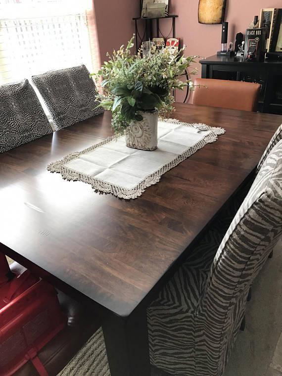 linen table runner linen tablecloth linen table scarf kitchen linen rh pinterest com