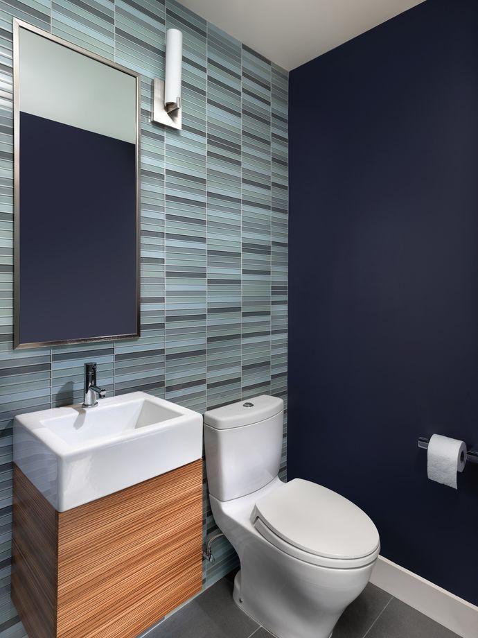 Porch   Blue Bathroom Tile From Rossington Architecture