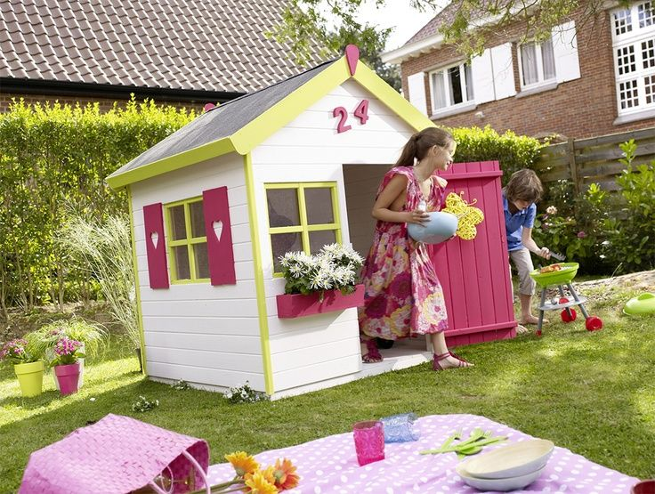 17 best images about cabane maisonnette d co jeux jardin pour enfant on pinterest a shed. Black Bedroom Furniture Sets. Home Design Ideas