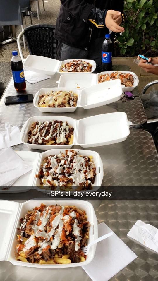 Cute coleslaw but let me present to you the mighty Halal Snack Pack. We are REALLY into them in Australia.
