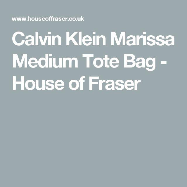 Calvin Klein Marissa Medium Tote Bag - House of Fraser