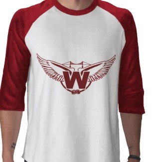 Wings concept logo for fictional hockey team