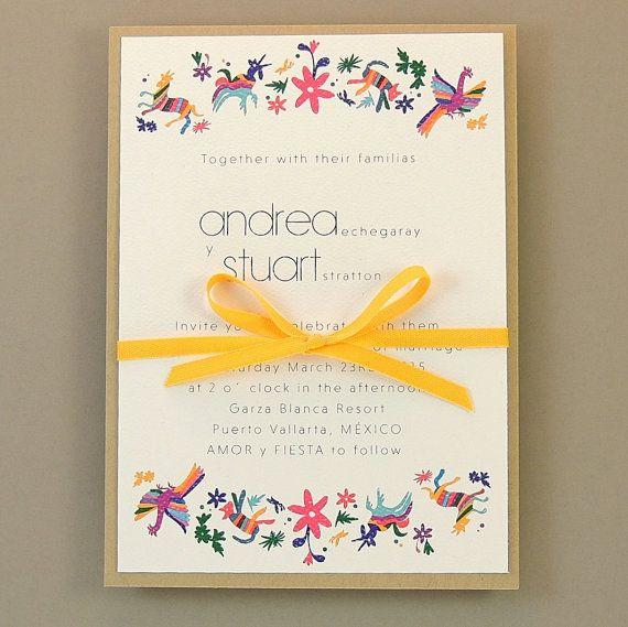 Best Invitaciones De Boda Images On Pinterest Weddings - Wedding invitation templates: mexican wedding invitations templates