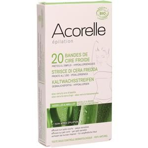 Acorelle Strisce Depilatorie Ascelle & Zona Bikini – 20 pz. a soli 8,49€