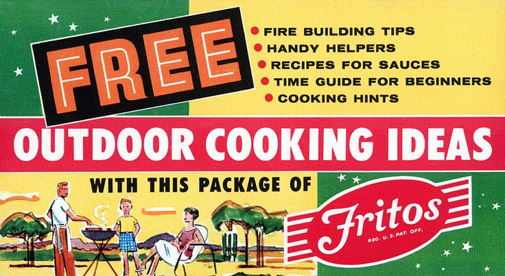 Fritos Outdoor Cooking Ideas (booklet), 1957
