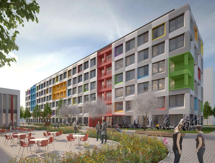 'Junges Wohnen' in München - V2 | Raumlabor3 - Architekturvisualisierung aus Karlsruhe