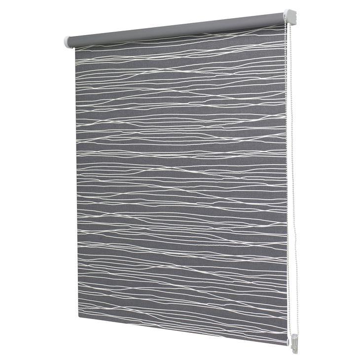 Intensions Blackout Window Roller Blind Honeycell Pattern Dark Grey | Homeware Online