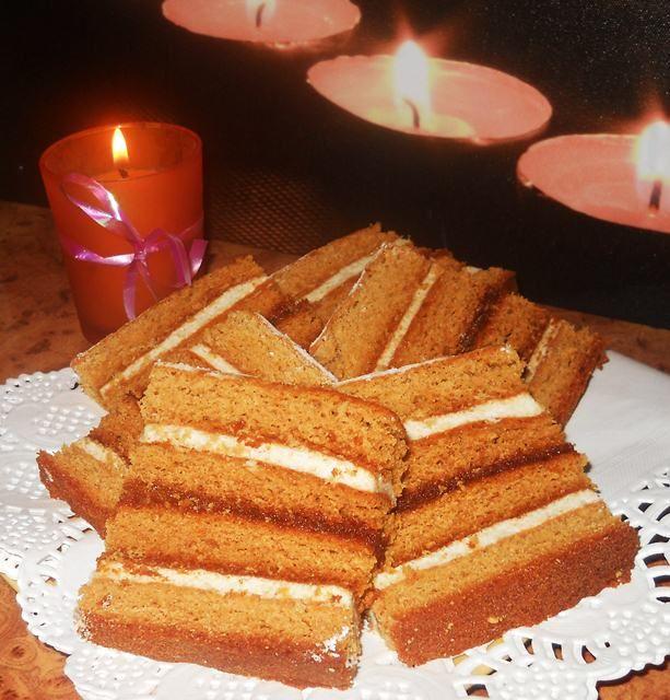 Retete culinare : Prajitura cu miere si gris, Reteta postata de Creatsa in categoria Prajituri