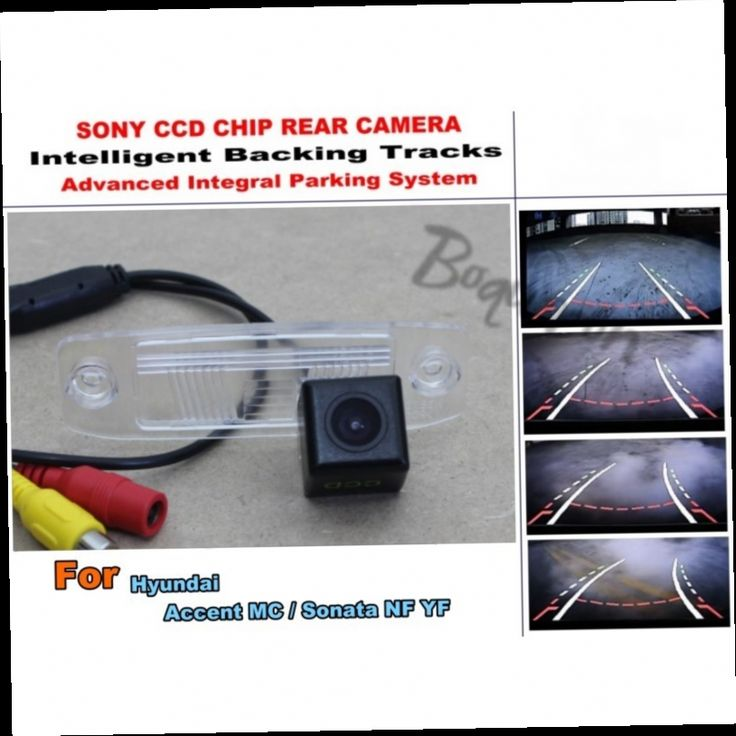 54.20$  Watch here - http://alixkq.worldwells.pw/go.php?t=32422190774 - Car Intelligent Parking Tracks Camera / For Hyundai Accent MC / Sonata NF YF HD Back up Reverse Camera / Rear View Camera 54.20$