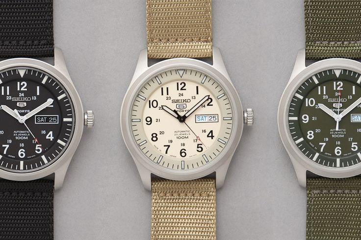 seiko military watches::via pure evil