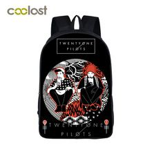 Twenty One Pilots Backpack for Teenagers Girls Boys School Bags Men Women Hip Hop Bags bolso mochila mujer Kpop Printing Bagpack     Tag a friend who would love this!     FREE Shipping Worldwide     Get it here ---> http://fatekey.com/twenty-one-pilots-backpack-for-teenagers-girls-boys-school-bags-men-women-hip-hop-bags-bolso-mochila-mujer-kpop-printing-bagpack/    #handbags #bags #wallet #designerbag #clutches #tote #bag