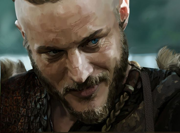 Ragnar Lothbrok (Vikings) by Baharluleci on DeviantArt