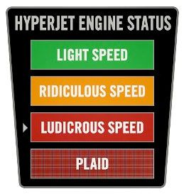 LUDICROUS SPEED (sorry 'bout the shouting) SPACEBALLS!!!!!!!!!!!!!!!!!!!!!!!!!!!!!!!!!!!!!!!!!!!!!!!!!!!!!!!!!!!!!!!!!!!!!!!!!!!!!