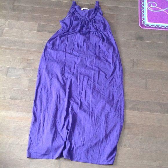 Old Navy maternity dress Old Navy..cute purple maternity dress...size medium Old Navy Dresses Maxi