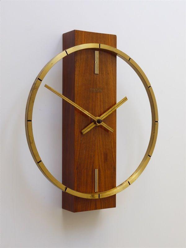 Anonymous; Wall Clock by Kienzle, c1970.