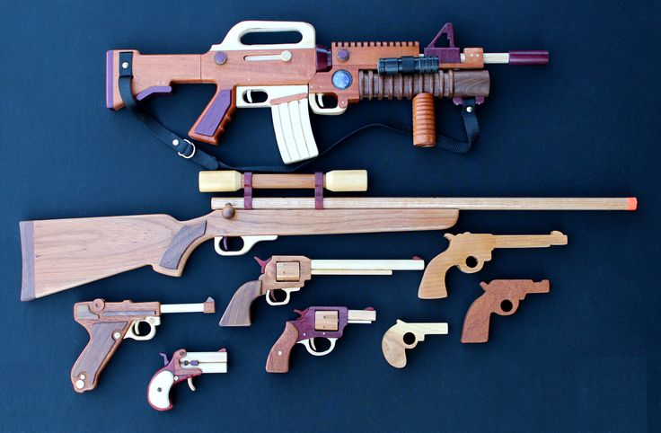 Woodworking plan for building all guns                                                                                                                                                      More