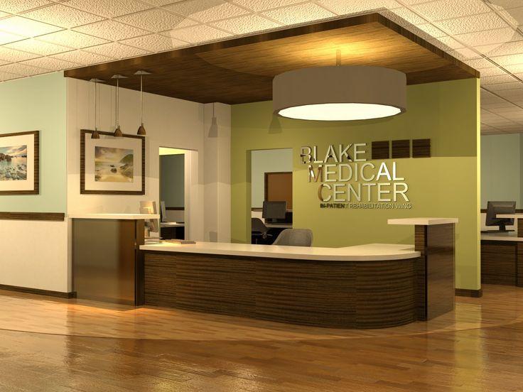 Prehistoric blake medical center perspectives for Office design wellbeing