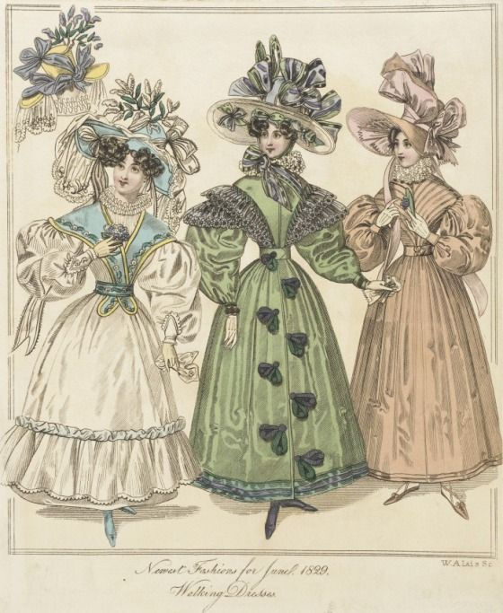 Fashion Plate (Walking Dresses)W. J. Alais (active 19th