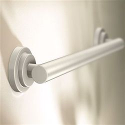 iso grab bar brushed nickel moen yg0712bn