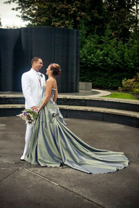 silver wedding dress: Wedding Inspiration, Wedding Dressses, White Wedding, Wedding Colors Theme, Colors Wedding Dresses, Silver Wedding Dresses, Wedding Blog, The Dresses, Silver Weddings
