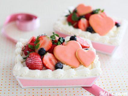 めいの部屋ブログ 母の日ケーキ(スコップケーキ)