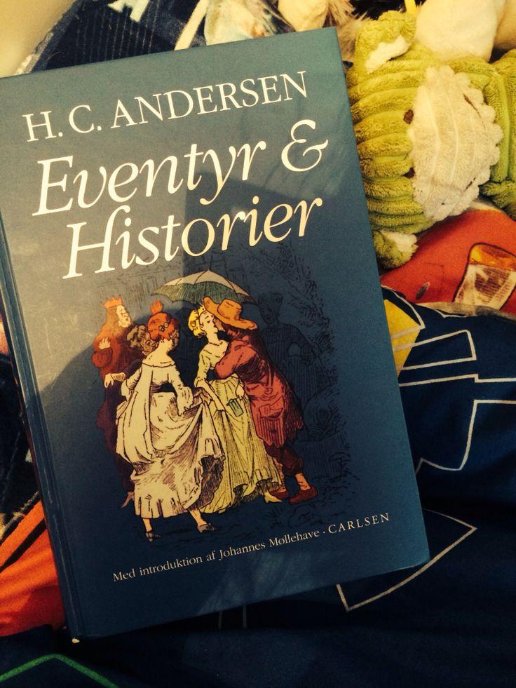 Da min søn var helt lille, startede jeg med at læse godnathistorier af HC. Andersen. De gamle fantastiske eventyr er ikke til at leve uden. Jeg elsker at der eksplicit ligger nogle meget hjertenære tanker og meninger bag den umiddelbare smukke fortælling.