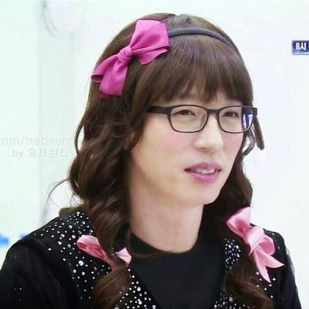 YJS #RunningMan | who doesnt know that this girl is a man ! ! ! Beautiful yoo jae suk ahjussi :D