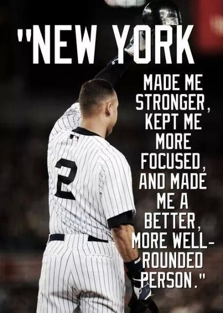 JETER #2 NEW YORK-word!