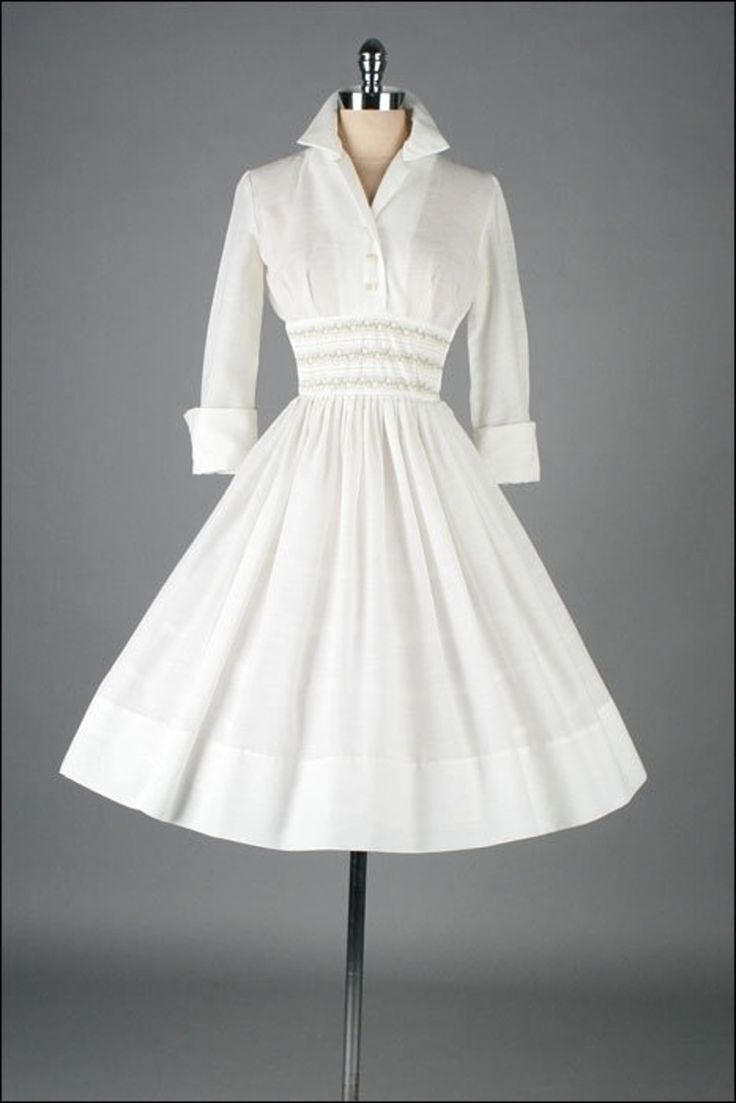 27. #Cuffed and Collared - 34 #Stunning Vintage #Dresses You Are Going to Want…