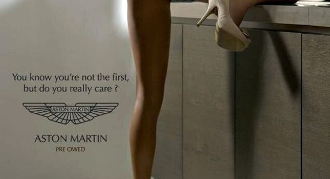 Merveilleux Aston Martin. Beau I Feel As Though This Is Ineffective Visual  Verbal Integration Of A Car Ad For