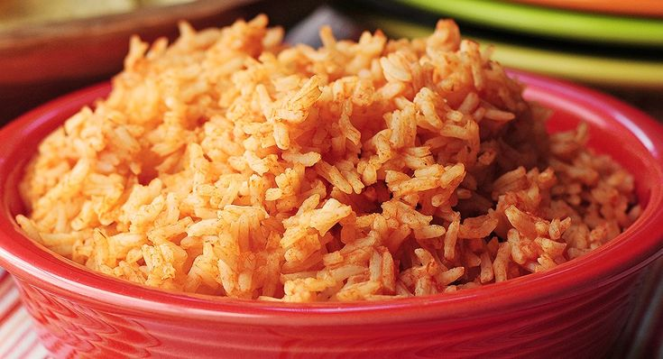 Mexican rice: not from a box!