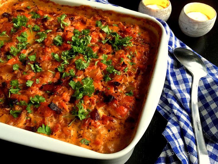 Den lækreste opskrift på italienske flødekartofler - fantastisk tilbehør til kødretter eller en hovedret i sig selv, bare med lidt grønt til.