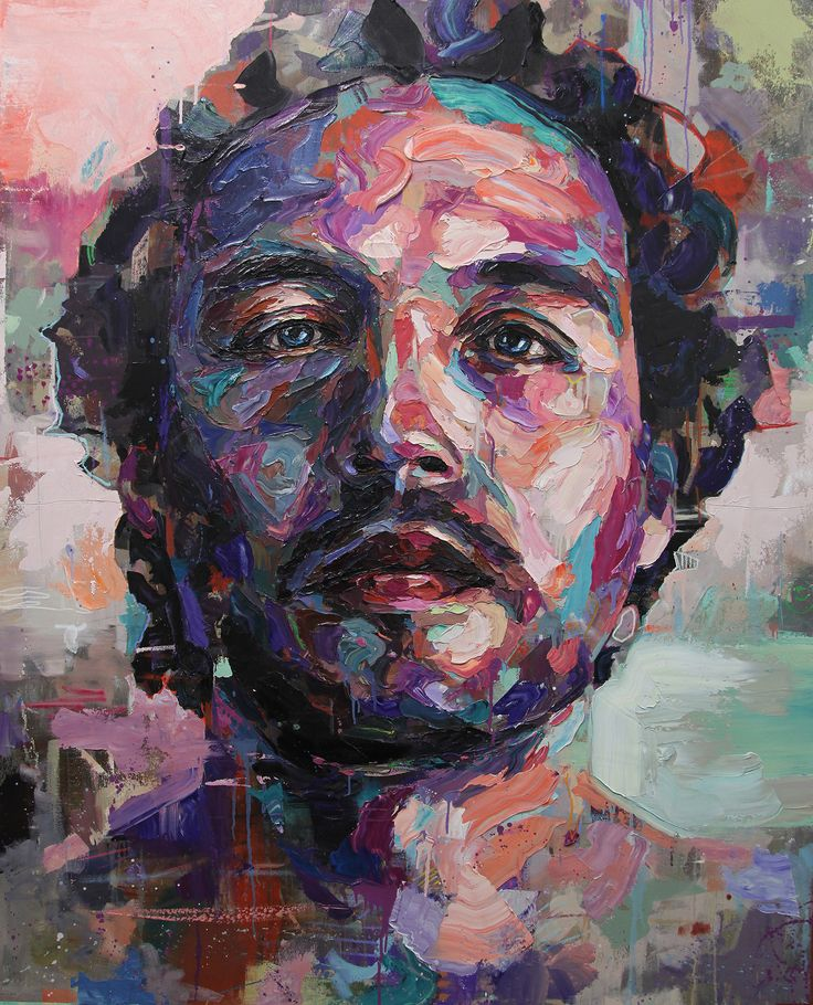 Contemporary Oil Painting Emotional Portraits by Joshua