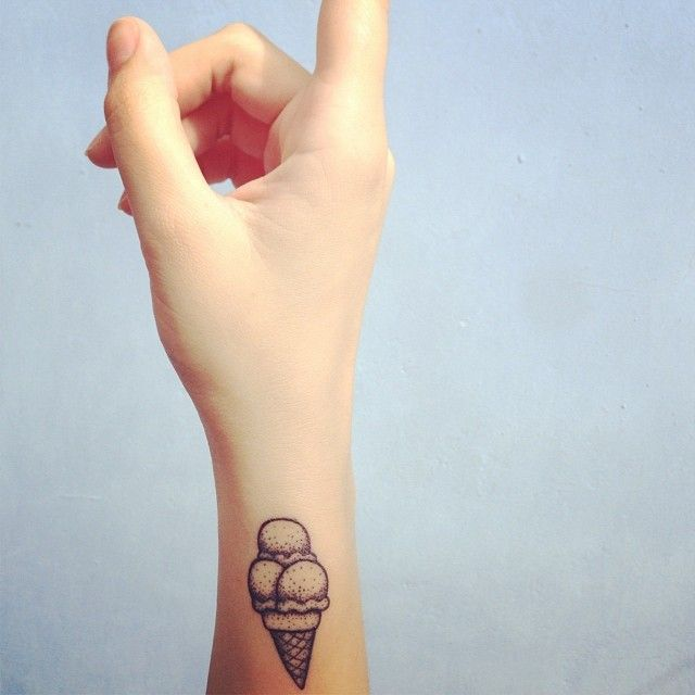 Best 25 ice cream tattoo ideas on pinterest pins on for Best post tattoo moisturizer