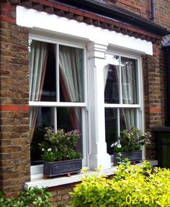 uPVC Sash Window - needs to look like wood