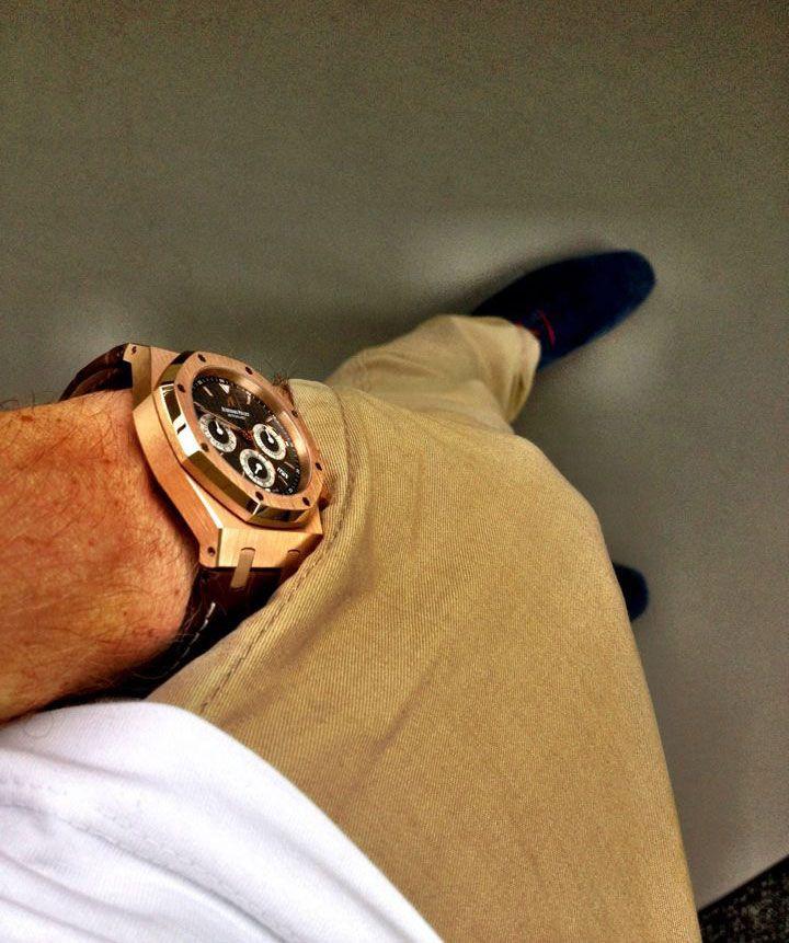 Audemars Piguet Royal Oak Chronograph #womw