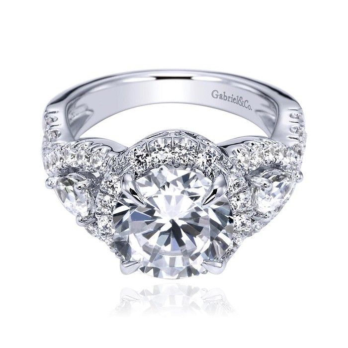 Gabriel & Co. - Engagement Rings! Aren't they just gorgeous! #gorgeousring