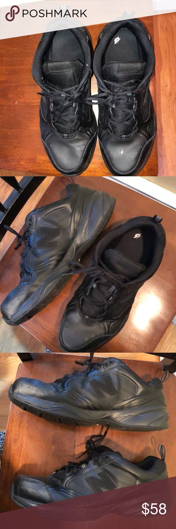 NEW BALANCE SIZE 16 6E all Black walking shoes Great for work on feet, stage crew, food service  Size 16 Men's width: 6E New balance  Worn 4 times , no box included New Balance Shoes Sneakers