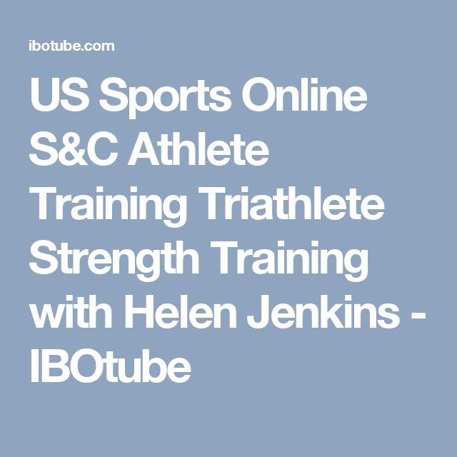 US Sports Online S&C Athlete Training Triathlete Strength Training with Helen Jenkins - IBOtube