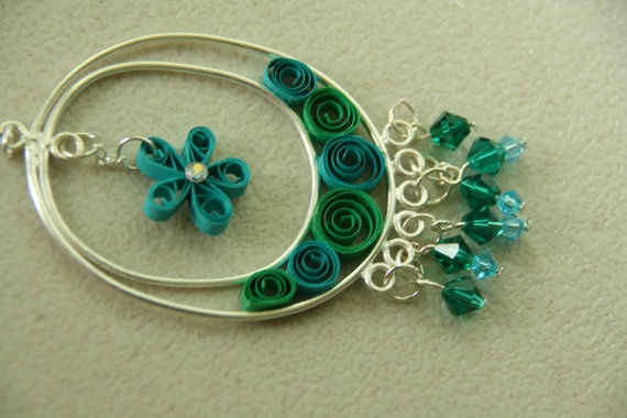 Pin by JEWELRY CRAFTS 101 on ~QUILLING JEWELRY | Pinterest