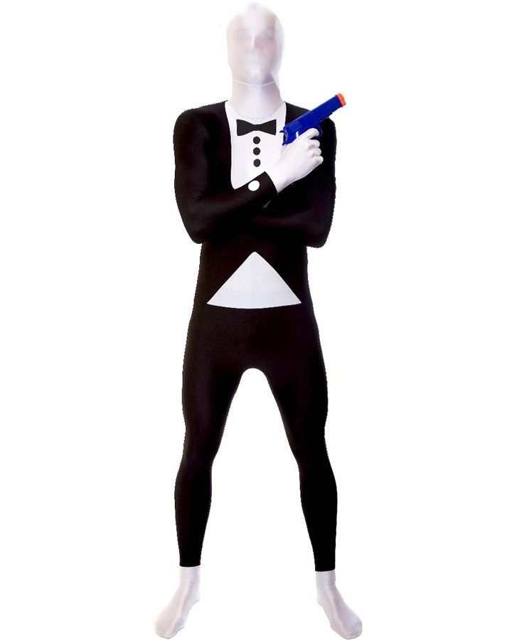 Morphsuit Premium Adult Costume Tuxedo #Casino