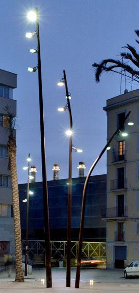FUL street light series by Pere Cabrera, via Behance