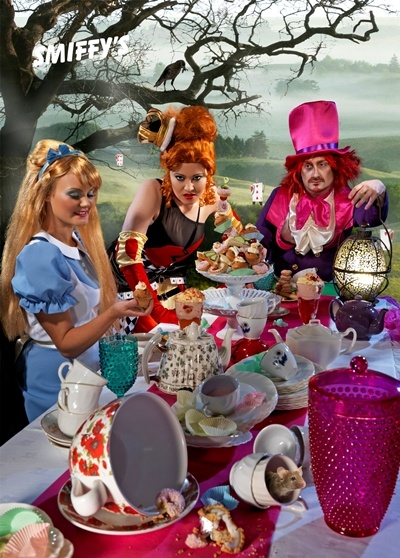 Alice in wonderland's mad hatter's tea party!! Our fav fancy dress theme of 2012