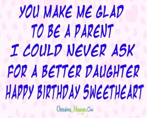 Birthday Wishes For Daughter Quotes 25+ best Daught...